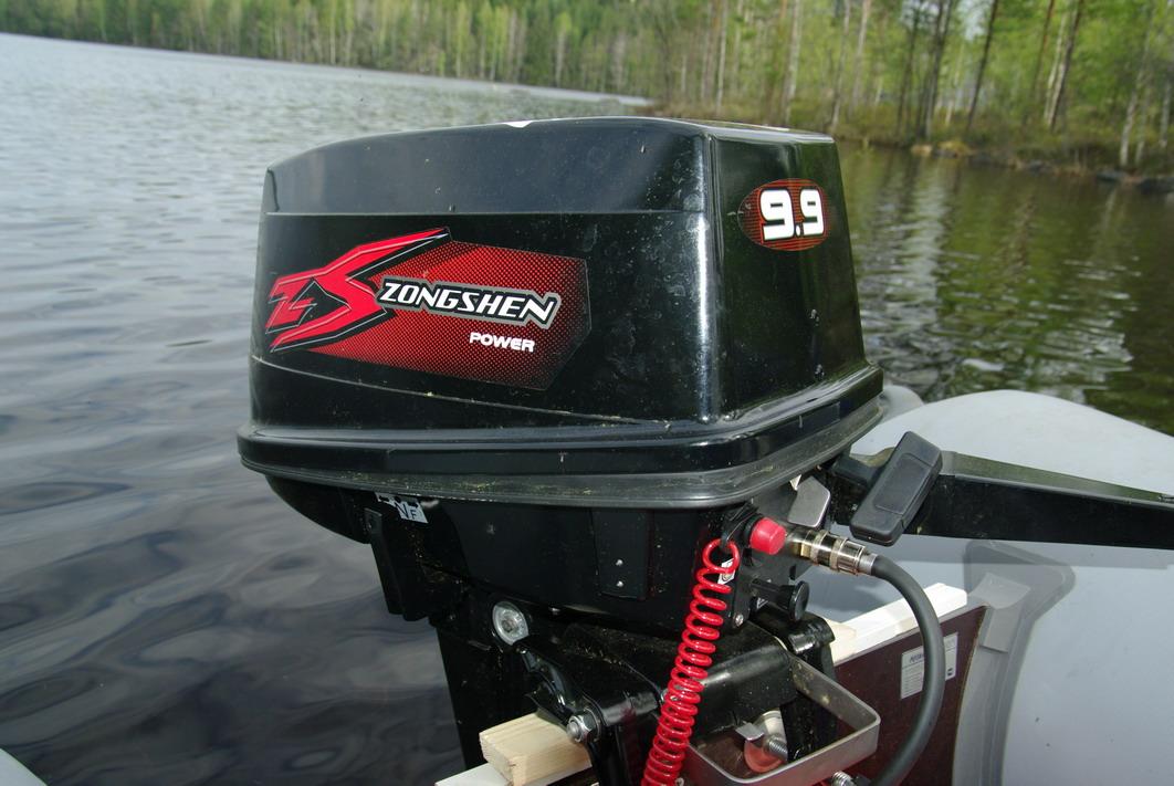 переделка лодочного мотора ханкай 9.9 в 15