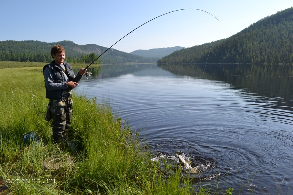 рыбалка на озерах алтая