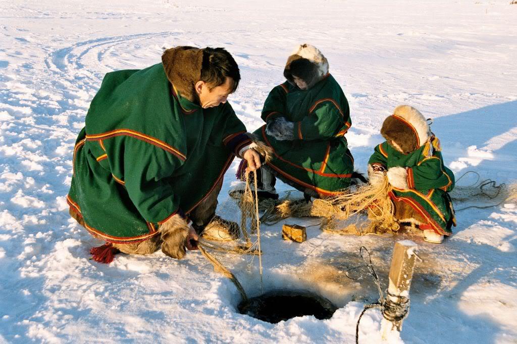 арктическая рыбалка